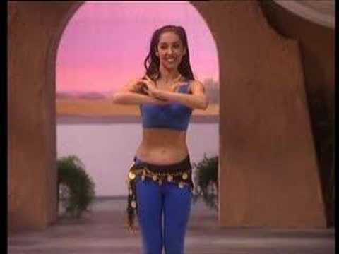 Arabic Belly Dance Basic Moves Part 01 of 04