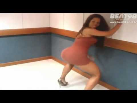 6 Sexy latina girl hot dance in super short and tight mini dress