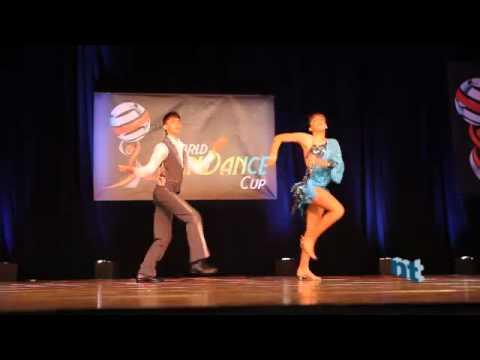 Adrian Abasolo y Nicole Chavez — 1st Place Finals Junior World Latin Dance Cup 2010