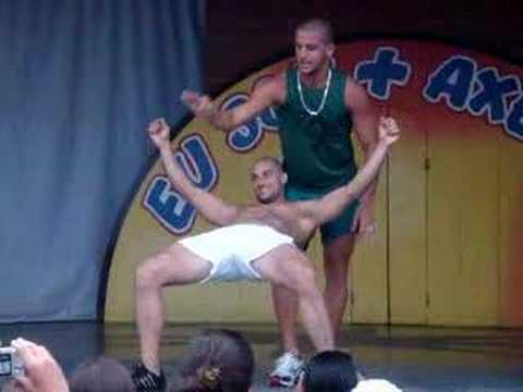 Dança do Creu Rafael e Diogo BBB11 Axé Moi/JAN 2008 1 a 4