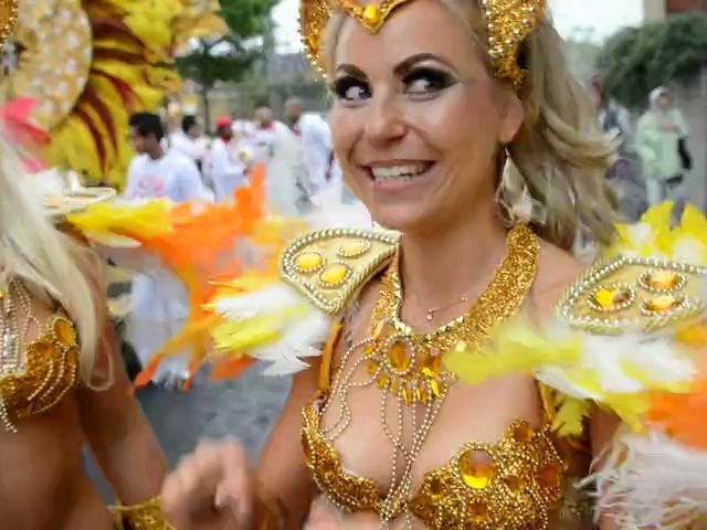 Notting Hill Carnival 2012 Brazilian Dancer exclusive interview 3