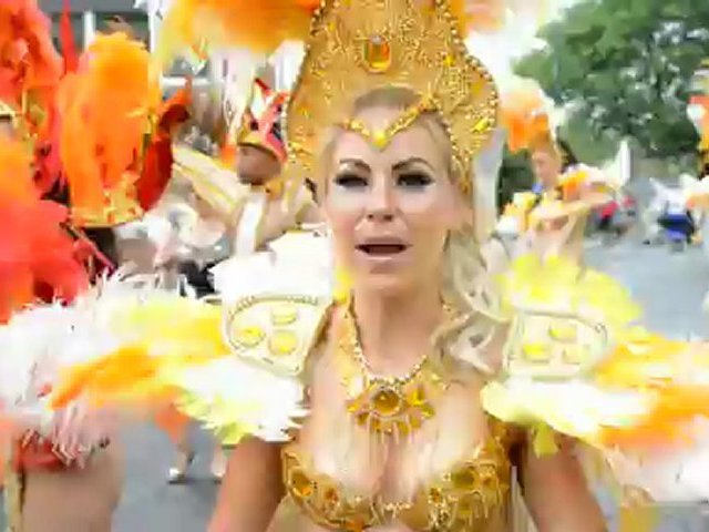 Notting Hill Carnival 2012 Brazilian Dancer exclusive interview 2