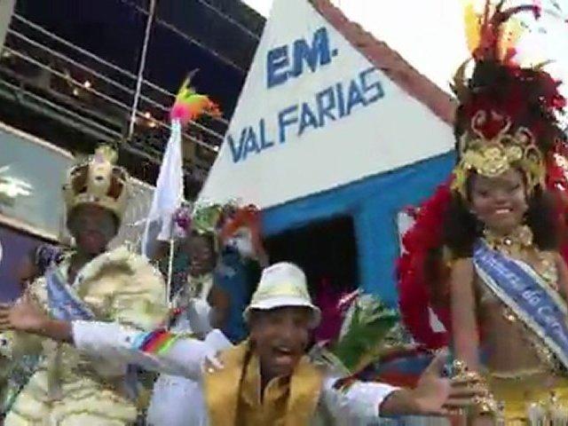 Brazil dances to the samba beat