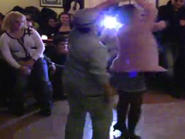 LATİNA  DANCE GECESİ 2011 KDSK ELİFNAME DSM AHMET & BUĞU SALSA DANCE SHOW GONDOL  CAFE RESTAURANT