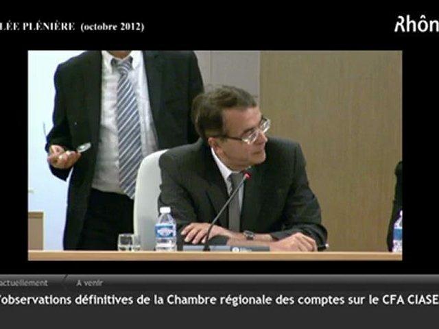 Armand Creus – CFA Mouliniers (CIASEM) – octobre 2012