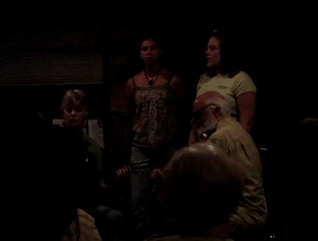 Lisa Santana (santanaorchdork) Latina teen ass shaking: WFB_Camp_Skibbereen_singing