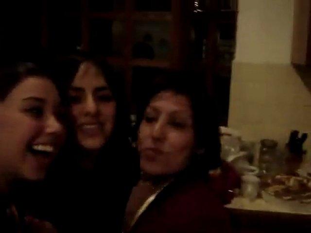 Lisa Santana (santanaorchdork) Latina teen ass shaking: New_Years_Eve_Party_Mexico