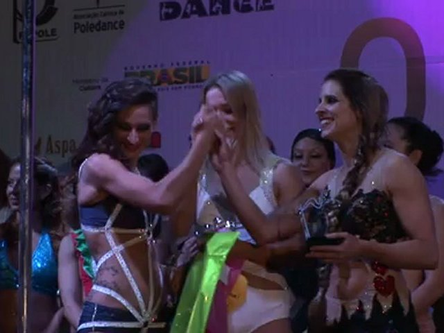 Pole dance lovers in Brazil for world championship