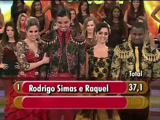 Confira os bastidores da primeira fase da final da Dança dos Famosos 2012