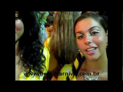 Dainty Brazilian Dancers from Rio Sambadrome Brazil: Dance Passion