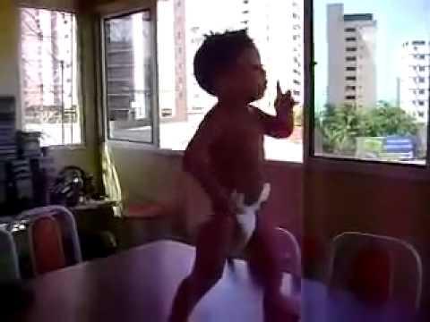 Dancing Baby Doing The Samba In Brazil