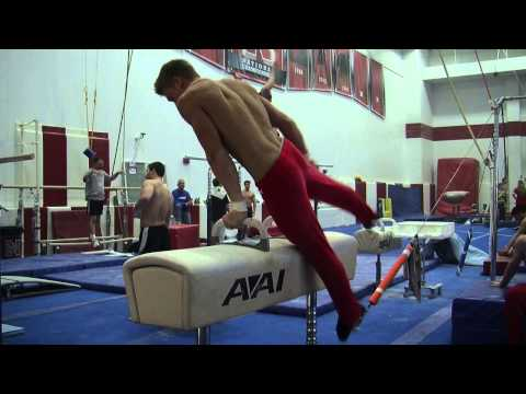 Nebraska Men's Gymnastics – Harlem Shake (Extended Cut)