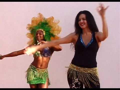 SAMBA RIO STYLE BASIC MOVE, PART 1: HIP BRAZIL DANCE SHOW WITH VANESSA ISAAC. www.hipbrazil.com