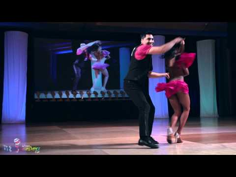 Sergio Jasso & Bianca Chapman – bachata finals 2nd place – World Latin Dance Cup