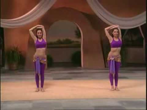 Belly dance fitness workout part 1 of 4