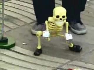 A dança do esqueleto