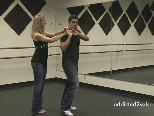 Basic Salsa Dance Hand Juggle