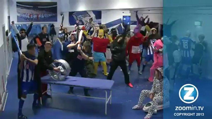 Jogadores de time de futebol alemão fazem dança do Harlem Shake