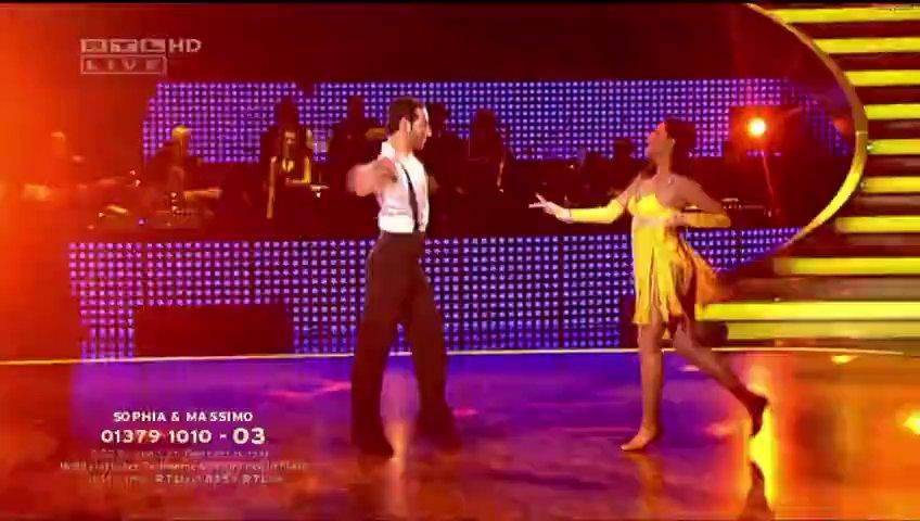 Sophia Thomalla Let`s Dance 2010 (Salsa)