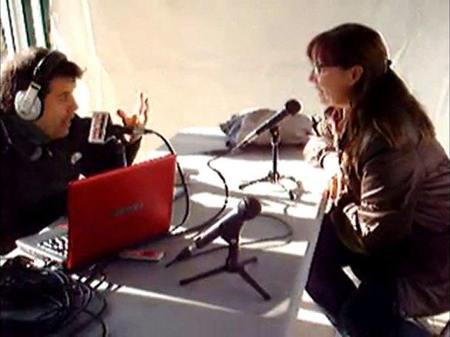 Part entrevista a Araceli-Creu Roja.