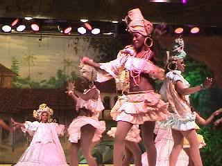 Samba Show From Rio de Janeiro, Brazil