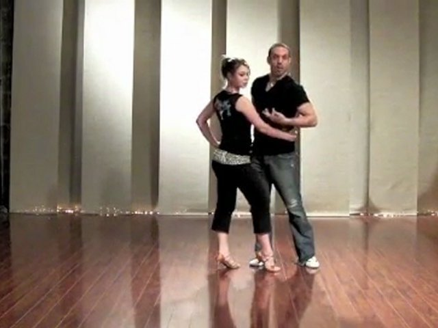 Salsa Dancing Pattern Lesson for Leads & Follows: Right Side Pass, Rear Window Body Lead, CBL Splitting the Middle