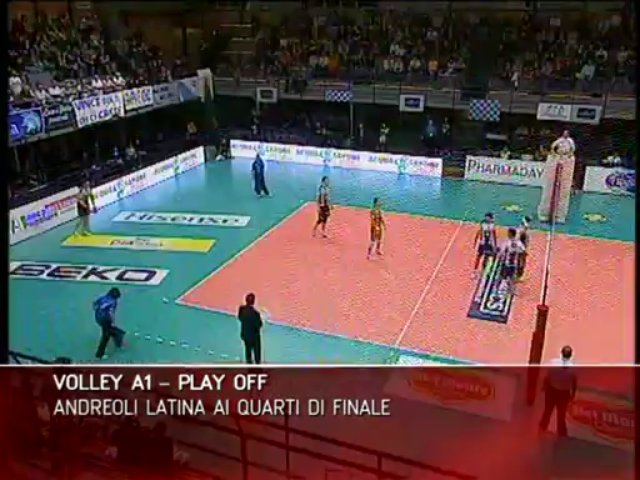 VOLLEY A1 PLAY OFF ANDREOLI LATINA AI QUARTI DI FINALE