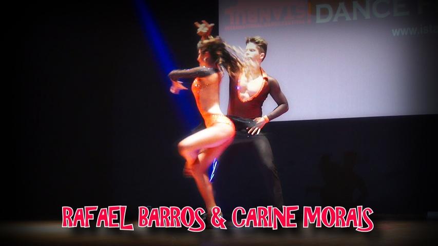 AMAZING SALSA SHOW | RAFAEL BARROS & CARINE MORAIS | ISTANBUL DANCE FESTIVAL