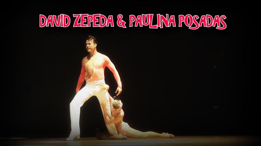 AMAZING SALSA PERFORMANCE  |  DAVID ZEPEDA & PAULINA POSADAS | ISTANBUL DANCE FESTIVAL