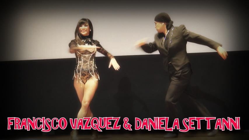 FRANCISCO VAZQUEZ & DANIELA SETTANNI SALSA SHOW  | ISTANBUL DANCE FESTIVAL