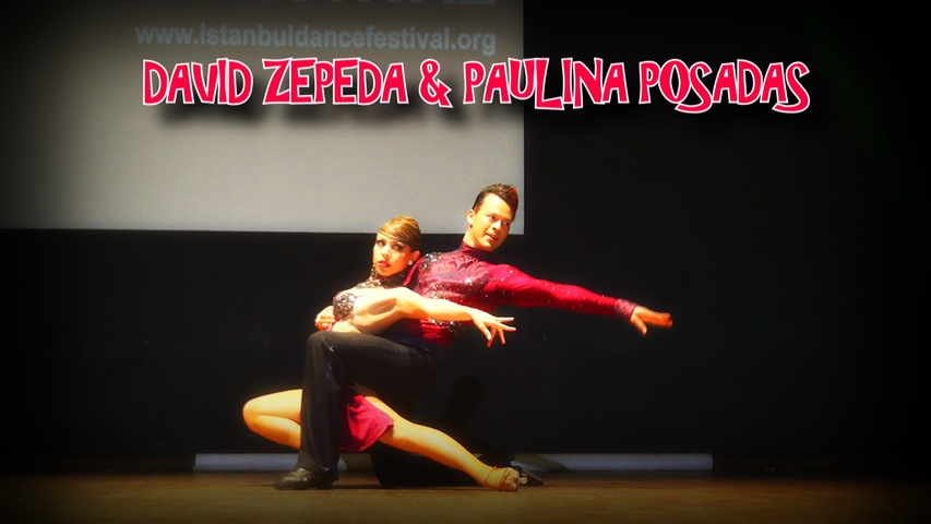DAVID ZEPEDA & PAULINA POSADAS SALSA SHOW!!!!!  | ISTANBUL DANCE FESTIVAL