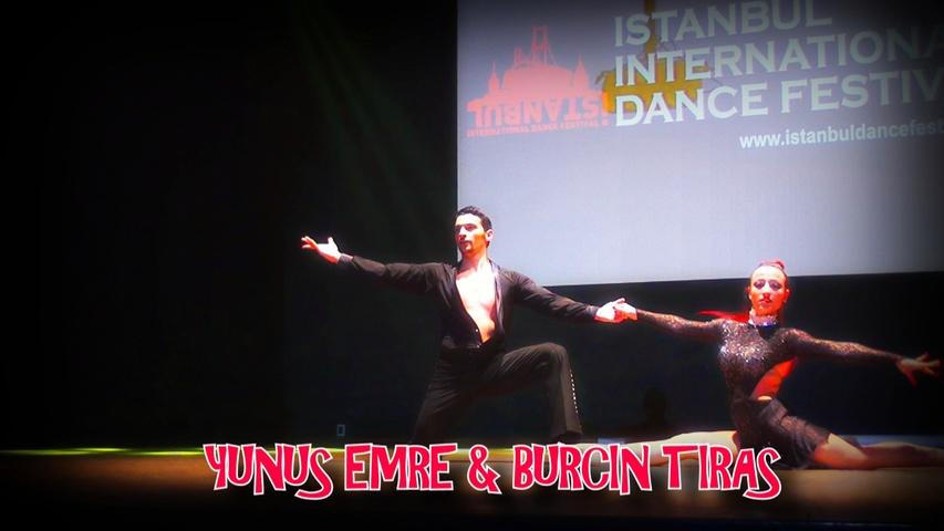 YUNUS EMRE & BURÇİN TIRAŞ SALSA SHOW  | ISTANBUL DANCE FESTIVAL