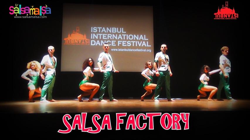 SALSA FACTORY SALSA SHOW | ISTANBUL DANCE FESTIVAL