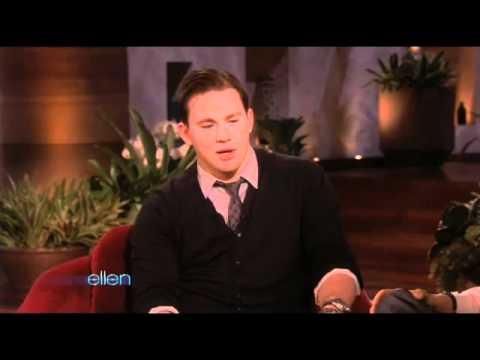 Ellen's Lap Dance from Channing Tatum!