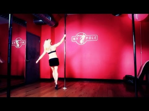 How to Do Basic Pole Dance Spins and Inverts   Pole Dancing Exercises