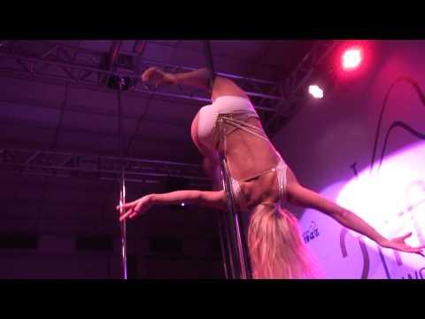 Winner of  2nd Pole Dance World Cup – ANASTASIA  SKUKHTUROVA
