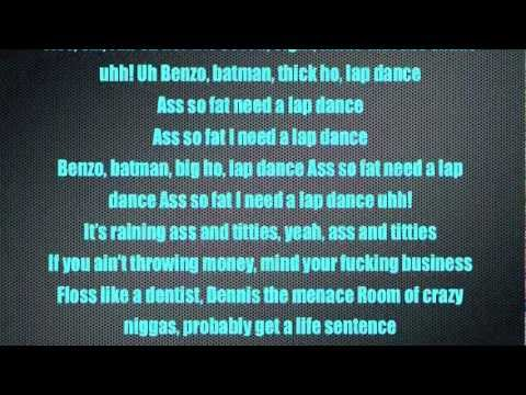 Lap Dance Lyrics-Tyga (OFFICIAL)