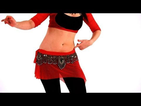 How to Do Hip Slides & Horizontal Figure Moves | Belly Dance