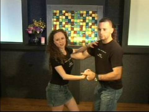 Basic Salsa Dance Steps : How to do a Frisbee Turn in Salsa Dancing as a Couple