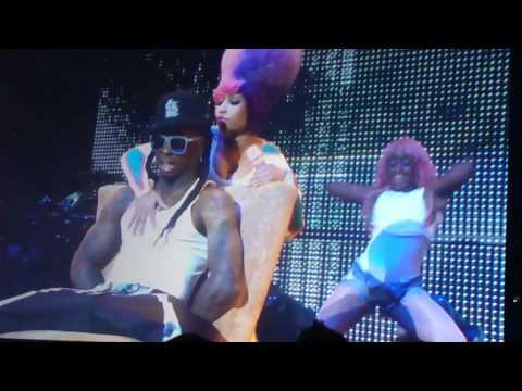 EXTENDED Nick Minaj Lil Wayne Lap Dance Nassau Coliseum 3/27/11