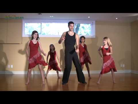 Salsa Basic Dance Step – learn  Latin Salsa Dance Lessons for kids salsa dancing