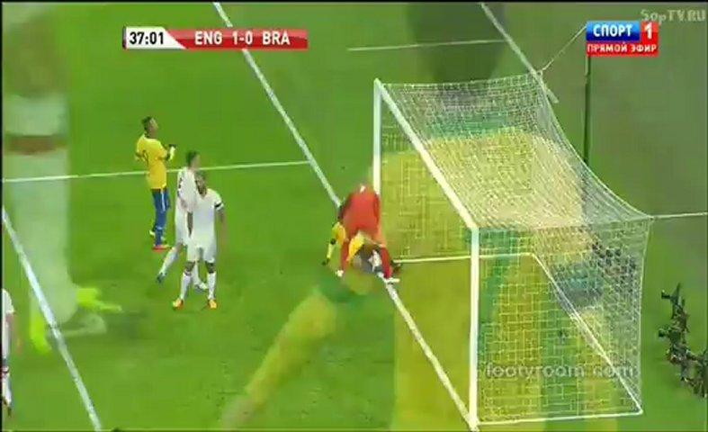 England 2-1 Brazil footyroom.com