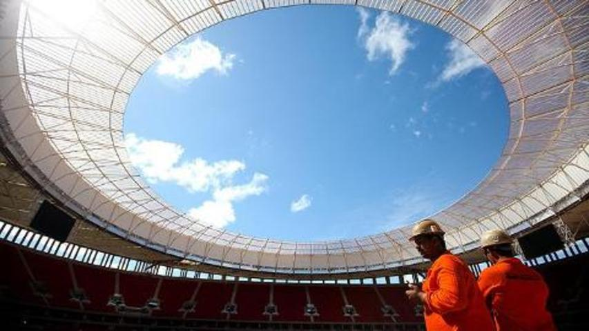 Brazil unveils $750m national stadium