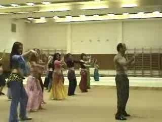 arab bele dance from male teacher
