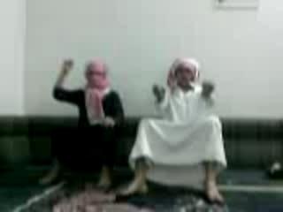 nutty arab funny smack dance crazy