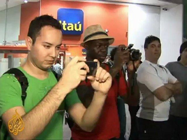 Michael Jackson fans pay tribute in Brazil