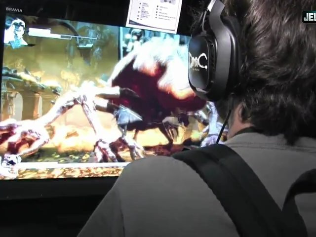 E3 2012 : Devil may Cry lap dance Interview !!!