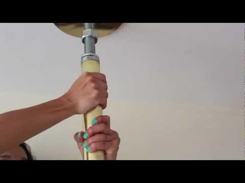 Instalación del tubo portátil giratorio – DanzzaPole, Tubos para pole dance