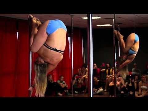 Bendy Kate | Italian Pole Dance Conference 2013