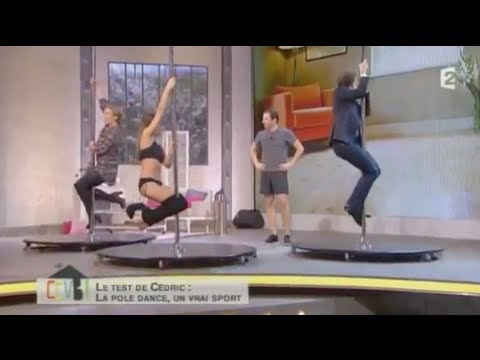 Comment ça va bien – Stéphane Bern et Patricia Kaas testent le Pole Dance